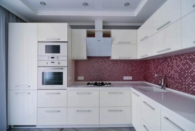 """Кухня """"Белый акрил"""""""